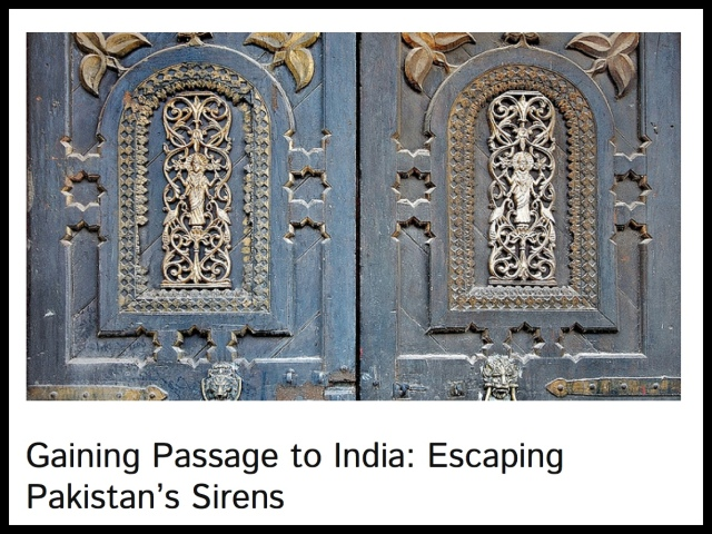 Gaining Passage to India