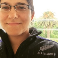 Go, All Blacks! Aka, Assimilation.