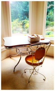 My desk nook in my Sherwood house.