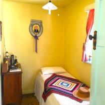 Former bathroom-turned-bedroom