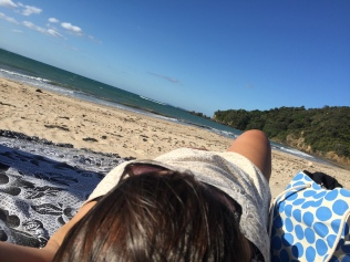 Kuaotunu Beach selfie