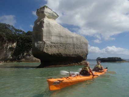These pictures courtesy of Cathedral Cove Kayak Tours